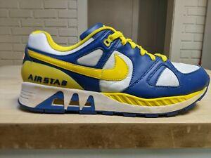 Educación escolar márketing Subjetivo  2007 Nike Air Stab Azul/amarelo tamanho 11 para Og Raro Colecionador de  tênis Cabra Graal | eBay