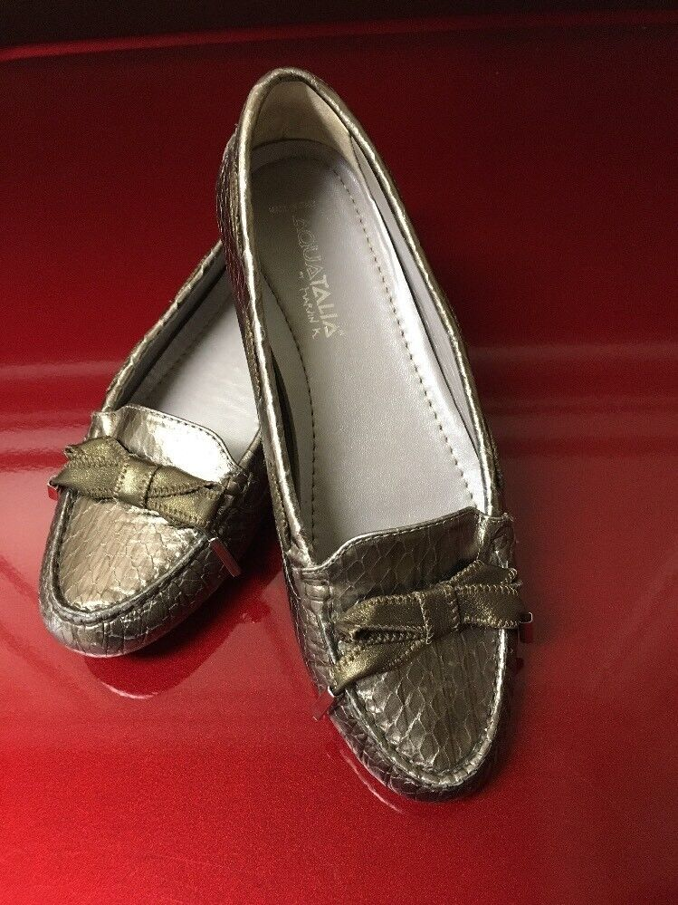 Authentic Sz Donna's Bally Alma Loafers/Flats Sz Authentic 6.5 94fe8d