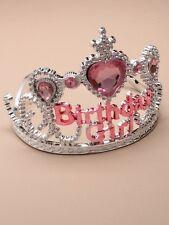 NUOVA Argento in Plastica per Bambini Compleanno Bambina Tiara Accessorio Per Capelli Party Prom