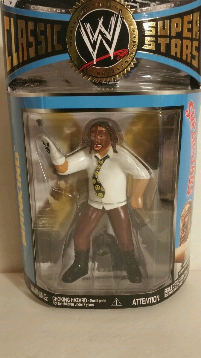 WWE CLASSIC SUPER STARS MANKIND ACTION FIGURE(030)