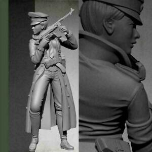 1-35-Resin-Figure-Model-Kit-Women-Soldier-Unpainted-Z1G4-m-U8G2