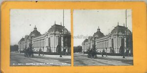 Parigi Piccolo Palais Foto Pl36 Stereo Vintage Analogica c1900