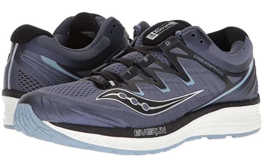 Saucony Triumph ISO 4 Size US 13 2E WIDE EU 48 Men's Running shoes Grey S20414-1