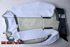 BMW E81 FRONT RIGHT LEATHER BASIC SEAT BACK COVER LEMON 52109124532