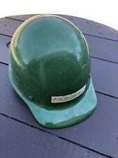 Vintage 70s Msa Skullgard Fiberglass Protective Hard Hat Cap Iron Worker Liner