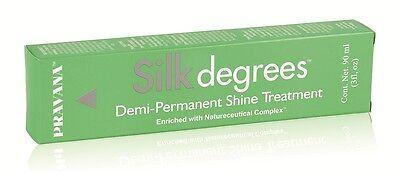 Pravana Silk Degrees Demi-Permanent Shine Treatment 3 oz 3-pack Free Shipping
