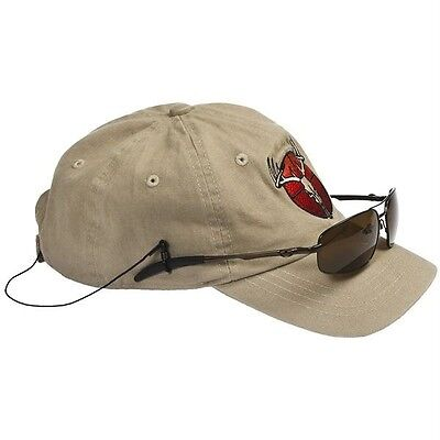 HatTail ~ Sunglass Tethers Fishing Cap Unisex $20 NWT