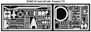 Eduard-1-35-SA-2-missile-with-trailer-For-Trumpeter-Kits-35663