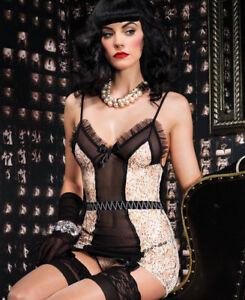 retail prices beautiful in colour top-rated discount Details about Vintage Lingerie Set Leg Avenue
