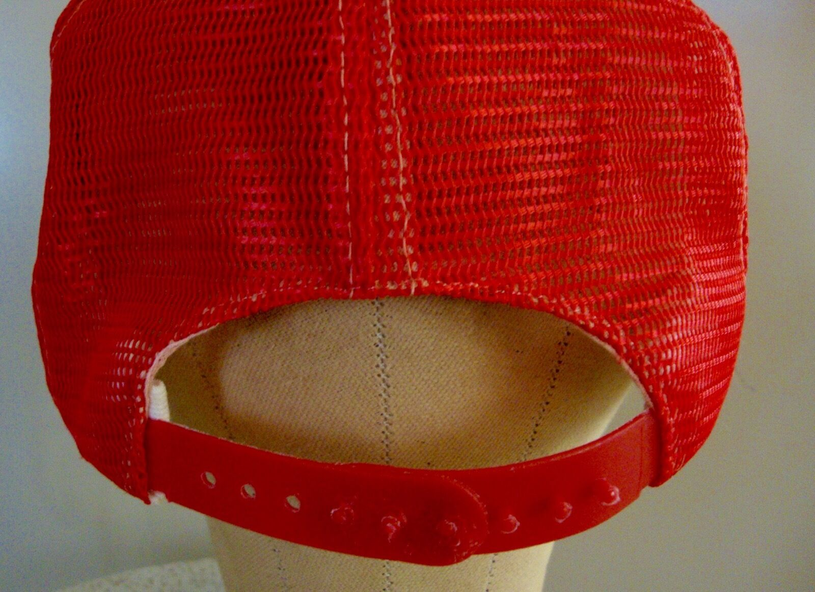 Vintage Snapback Hat Adjustable Red  ***HONDA**    - image 2