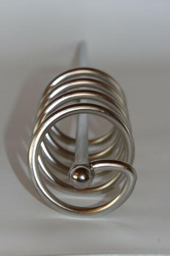 Honigrührstab Rührspirale cremiger Honig 60 cm Edelstahl Honigrührer Imkerei
