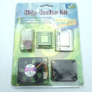 KWI-Chip-Cooler-Kit-Chipset-Cooling-Kit-FAN-CCB-02-NEW-Sealed-TECH0181