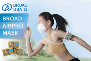 BROAD-Airpro-Electrical-Purifying-Respirator-with-Two-Reusable-Masks-NEW-PACK