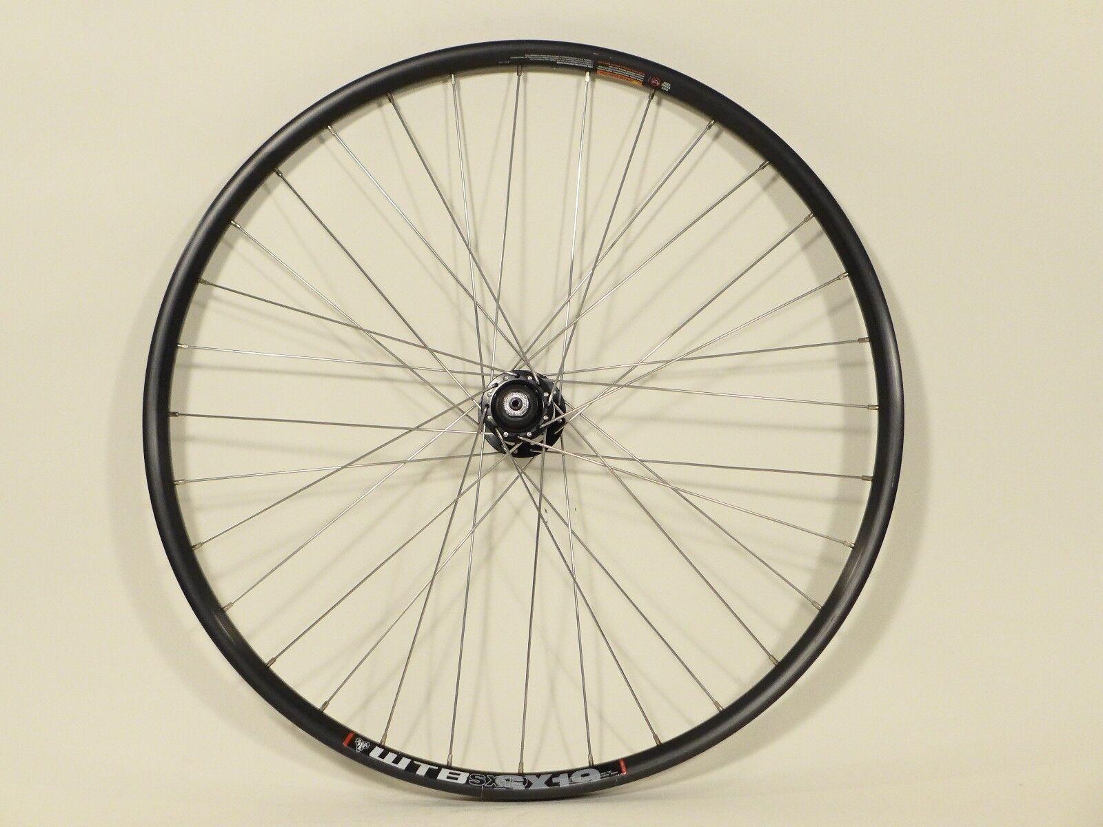 Front Wheel 26  Disc WTB SX19 Rim, Sram MTN 506 Hub 100mm QR 32h F11