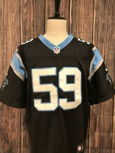 Details about Nike Mens Luke Kuechly Jersey 59 NFL Carolina Panthers On Field 44 Hardly Worn!