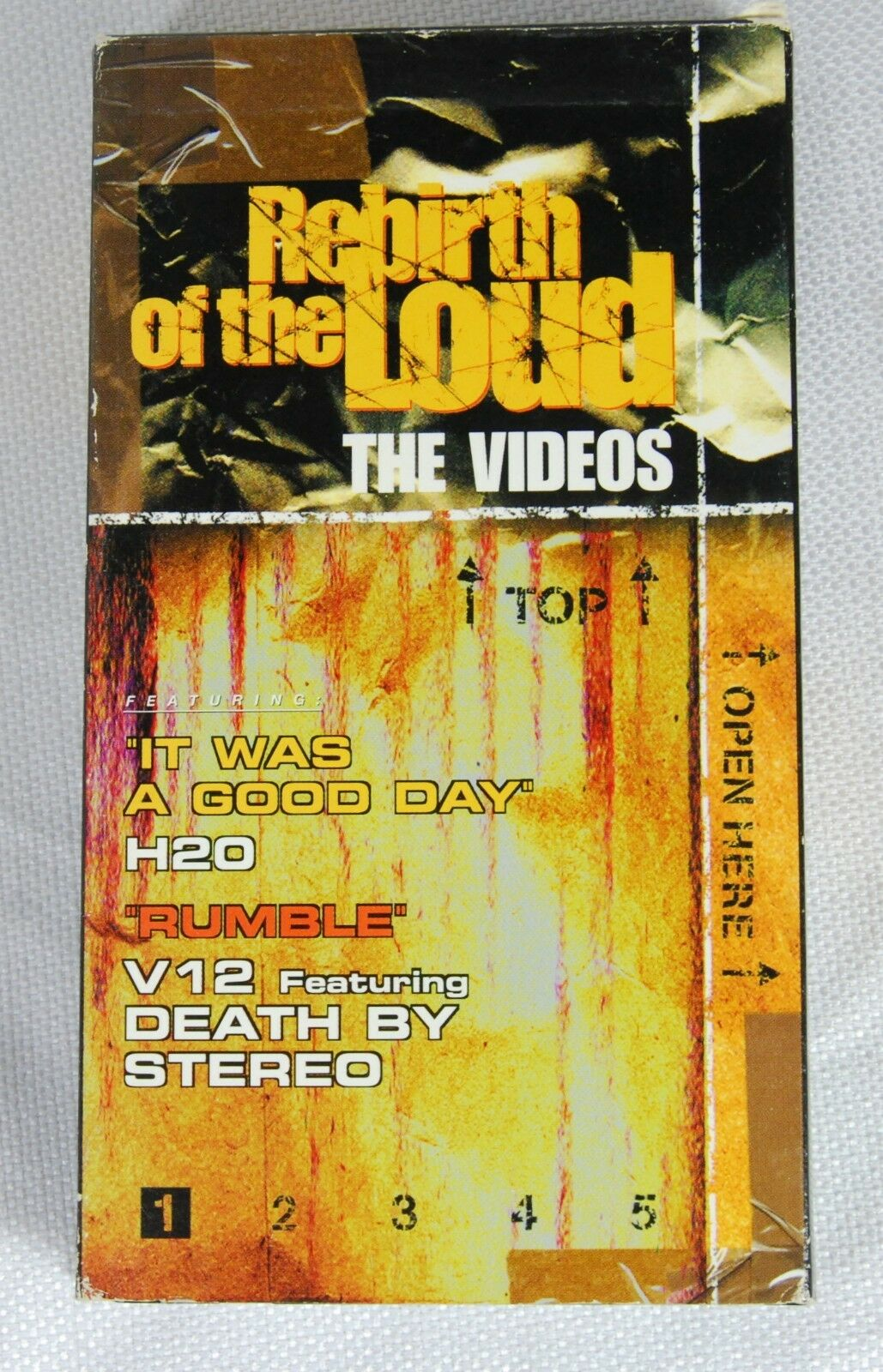 Rebirth of the Loud VHS Death by Stero H20 Ice Cube Wu-Tang RARE