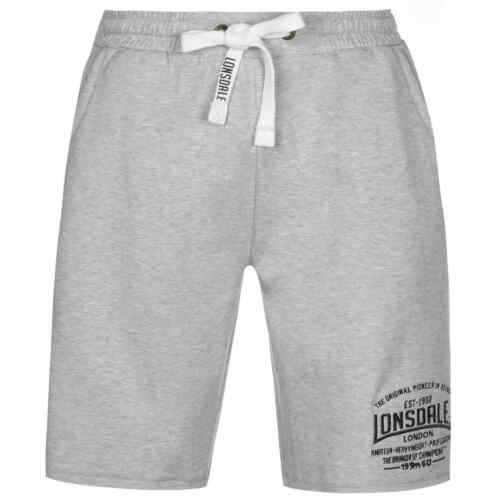 Lonsdale Box Lightweight Shorts Mens Gents Boxing Pants Trousers Bottoms