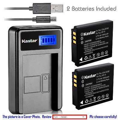 Kastar Batteria Dual USB Charger per Kodak LB-080 Kodak PIXPRO SP1 PIXPRO SP1 HD