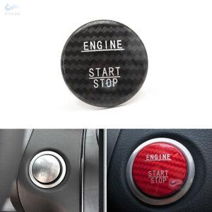 Details about Carbon Fiber Engine Start Stop Button Cover For Mercedes Benz  C GLA E Class W205