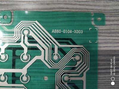 1PC NEW A860-0104-X003 Button membrane