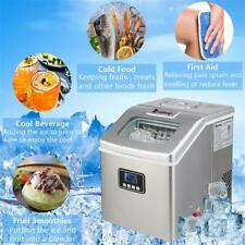 Portable Ice Maker Countertop Cube Machine 40lbs Frigidaire Commercial Home Use