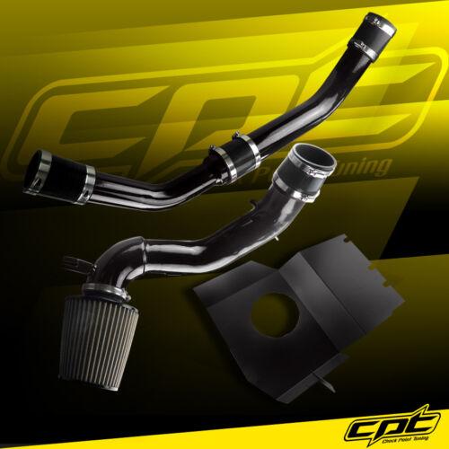 08-15 Lancer Turbo 2.0L Evo X 10 Black Cold Air Intake Stainless Filter