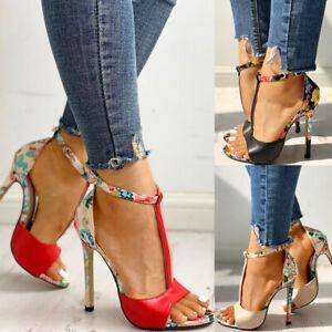 Women Stiletto High Heel Sandals Sexy