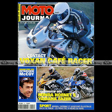 MOTO JOURNAL N°1421 VOXAN CAFE RACER YAMAHA FZS 600 FAZER HONDA CB HORNET CX 500