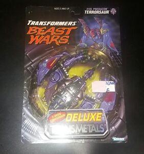 Transformers Beast Wars Evil Predacon Terrorsaur Deluxe.transmetals Kenner.