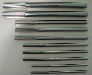 DWR Series Drill America .2505 High Speed Steel Straight Shank Chucking Reamer