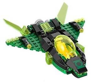 Lego-Sin-Minifiguras-Super-Heroes-Green-Lantern-039-s-Jet-Split-desde-76025-Set