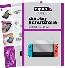 2x Nintendo Switch Schutzfolie klar Displayschutzfolie Folie dipos Displayfolie