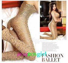 Sexy suspender open crotch Leggings body temptation Siamese stockings Ca P1