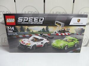LEGO Porsche 911 RSR & 911 Turbo 75888 Speed Champions  NEU ungeöffnet OVP