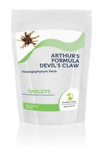 DEVIL-039-S-CLAW-Arthurs-Formula-Herb-225mg-x500-Tablets-Letter-Post-Box-Size