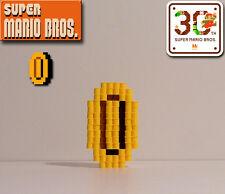 SUPER MARIO BROS. - 3D Coin (Perler Bead Figure)