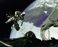 8x10 Photo: Astronaut Ed White Floats Out Open Hatch On First Spacewalk