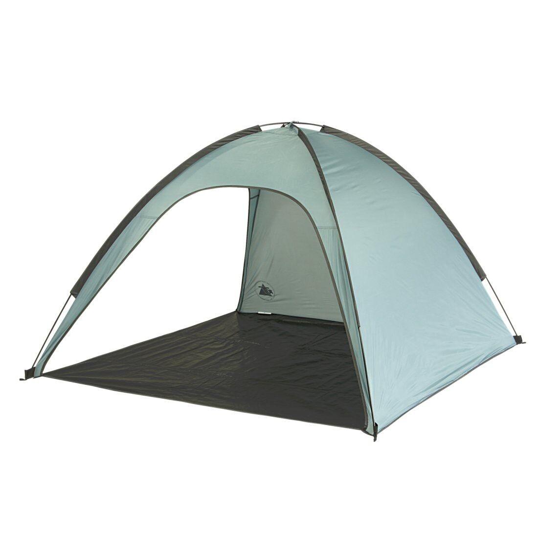 10T Antigua UV 50+ - Parasole da spiaggia 180x180x120cm protezione da sole e ven
