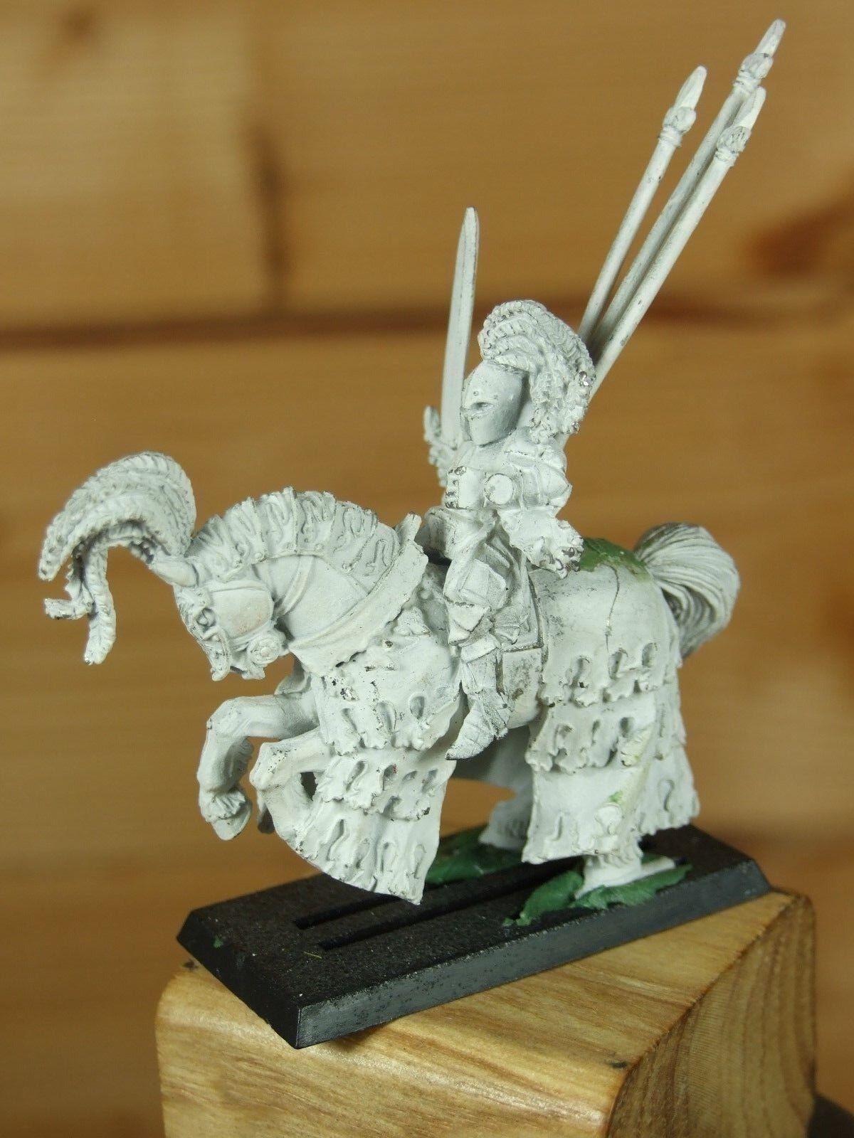 Classic Metal WARHAMMER Bretonnian verde Knight dipinto base  079