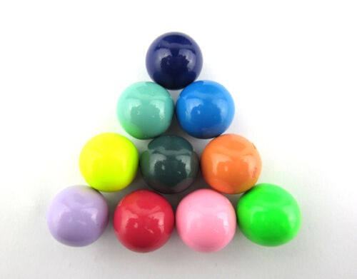 Freeship10pcsmixed Mexican bola Harmonyball bell Ringing Chime Jewelry beads18mm