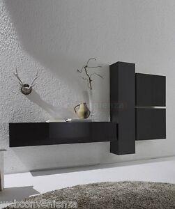Parete Attrezzata Zona Giorno Box 3 C Porta TV Soggiorno Moderno ...