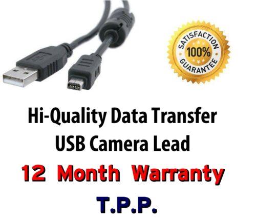 Fuji Finepix USB Camera Lead Cable F72EXR F80EXR F85EXR HS10 HS11 J10 J100 J110w