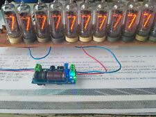 Power supply DC 85-220V/5V led indicator N.V./5V. Nixie lamps IN8,12,14,16,17,18