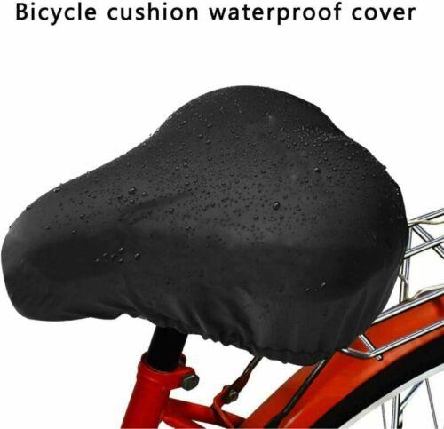Wasserdichte Fahrradsattelabdeckung,elastische Wasserfeste Fahrradsatteldecke 2X
