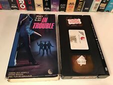 * In Trouble Rare Canadian Comedy Drama VHS 1968 Julie Lachapelle Jacques Cohen