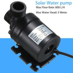 24V Mikro Bürstenlosen Solar Wasserpumpe Tauchpumpen Umwälzpumpe Motor Zubehör