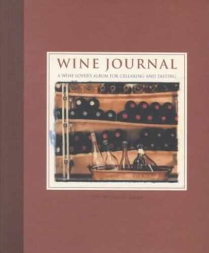 1 of 1 - Wine Journal: A Wine Lover's Album for Cellaring and Tasting-ExLibrary