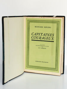 Capitaines-courageux-KIPLING-Illustr-Guy-ARNOUX-Delagrave-1936-Ex-numerote