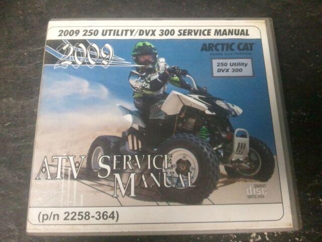 2009 Arctic Cat Atv Service Manual   2258