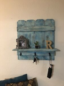 Pallet Wall Shelf Rustic Decor Reclaimed Wood Shelf Wall Shelves